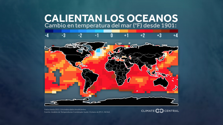 OCEANS TEMP MAP